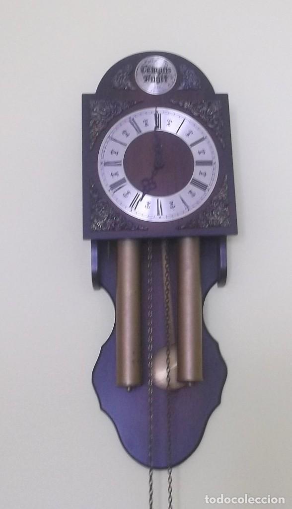 Relojes de pared: RELOJ DE PARED TEMPUS FUGIT-AÑOS 70 - Foto 6 - 246364235