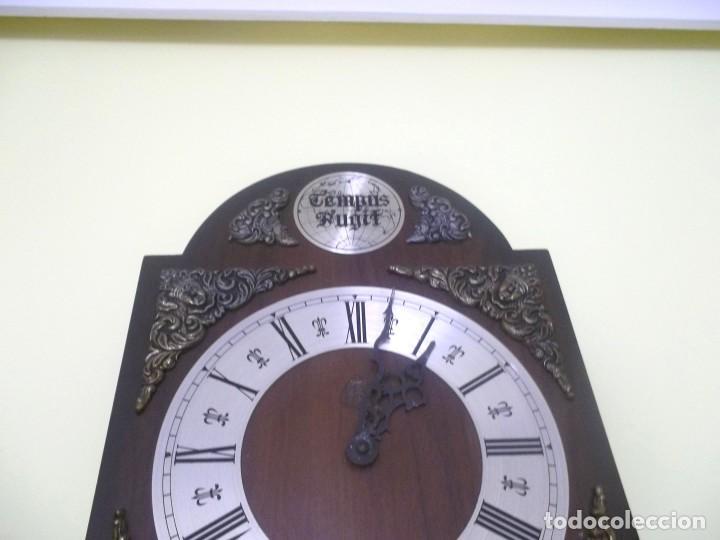 Relojes de pared: RELOJ DE PARED TEMPUS FUGIT-AÑOS 70 - Foto 7 - 246364235