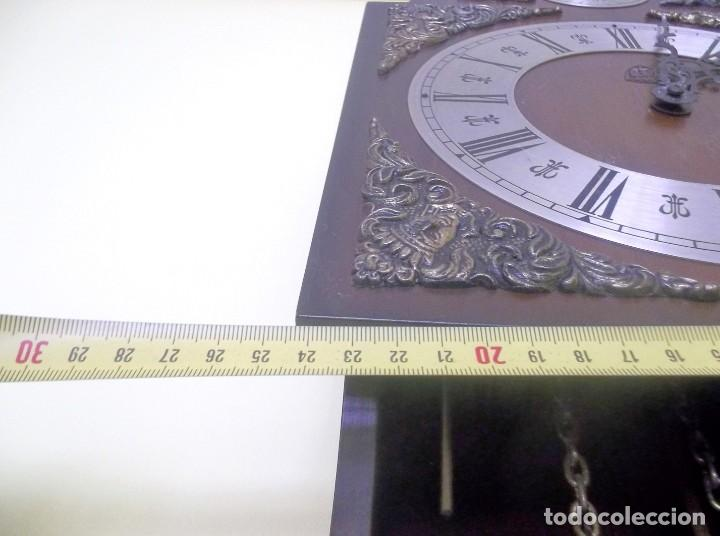 Relojes de pared: RELOJ DE PARED TEMPUS FUGIT-AÑOS 70 - Foto 8 - 246364235