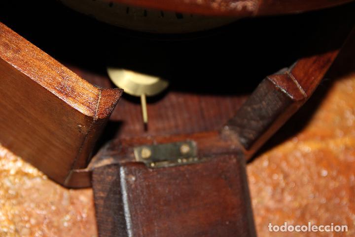 Relojes de pared: ANTIGUO RELOJ DE PARED OJO DE BUEY DE PEQUEÑO TAMAÑO - Foto 5 - 246528205