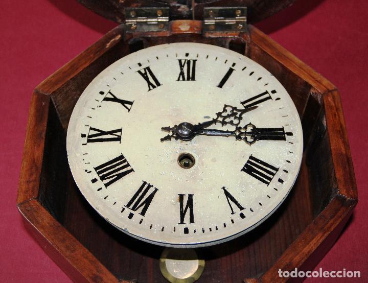 Relojes de pared: ANTIGUO RELOJ DE PARED OJO DE BUEY DE PEQUEÑO TAMAÑO - Foto 15 - 246528205