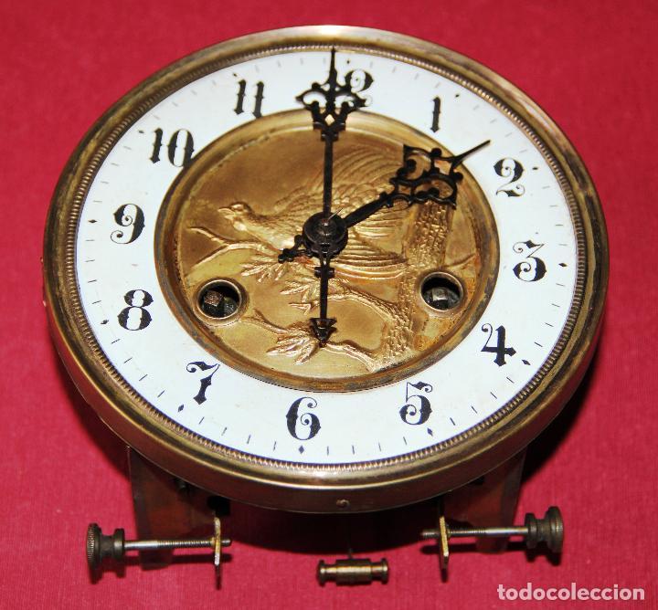 Relojes de pared: ANTIGUA MAQUINA DE RELOJ DE PARED PHS - Foto 2 - 246534200