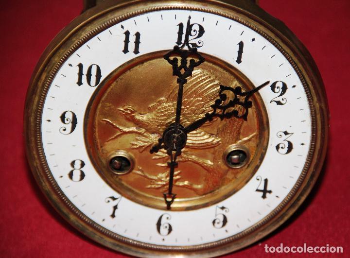 Relojes de pared: ANTIGUA MAQUINA DE RELOJ DE PARED PHS - Foto 3 - 246534200
