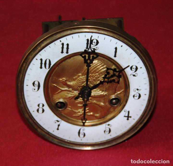 Relojes de pared: ANTIGUA MAQUINA DE RELOJ DE PARED PHS - Foto 12 - 246534200