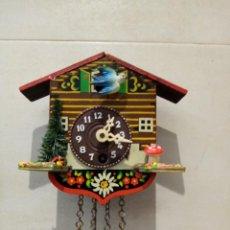 Relojes de pared: RELOJ DE PARED CUCO MENCANICO ALEMAN. Lote 247707385