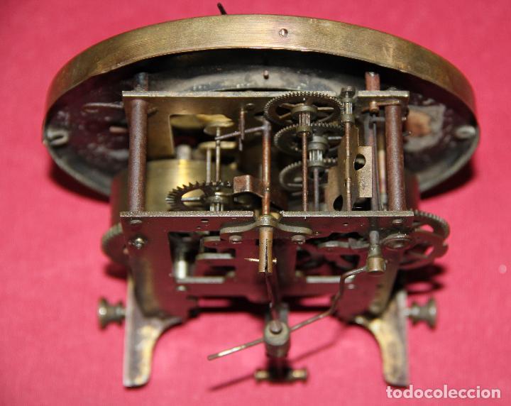Relojes de pared: ANTIGUA MAQUINA DE RELOJ DE PARED PHS - Foto 13 - 246534200