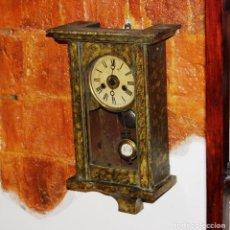 Relojes de pared: ANTIGUO RELOJ DE PARED JUNGHANS DE PEQUEÑO TAMAÑO. Lote 247763020