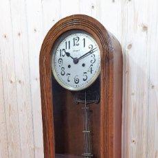 Relojes de pared: RELOJ DE PARED C.COPPEL FUNCIONANDO. Lote 248266515