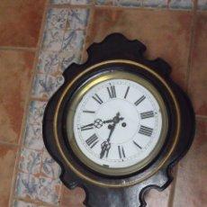 Relojes de pared: ¡¡¡¡GRAN OFERTA !!!!!!ANTIGUO RELOJ ESCUELA-AÑO 1910-FUNCIONA PERFECTAMENTE. Lote 248608705