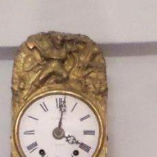 Relojes de pared: RELOJ MORET JUAN FARIÑA – VALLADOLID /// CON PENA O SOPORTE DE MADERA. Lote 249136595
