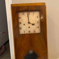 Relojes de pared: CURIOSO RELOJ DE PARED JUNGHANS W.248 ANTIGUO. VER LAS IMÁGENES. Lote 249157530
