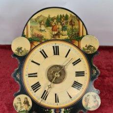 Relojes de pared: RELOJ DE PARED. RATERA. LA SELVA NEGRA. J. CANALS. LA PROVIDENCIA. SIGLO XIX.. Lote 251008670