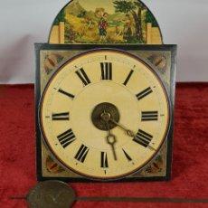 Relojes de pared: RELOJ DE PARED. RATERA. LA SELVA NEGRA. J. CANALS. LA PROVIDENCIA. SIGLO XIX.. Lote 251011325