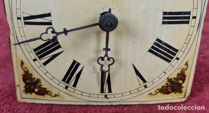 Relojes de pared: RELOJ DE PARED EN MADERA. RATERA. LA SELVA NEGRA. ALEMANIA. SIGLO XIX. - Foto 4 - 251114710