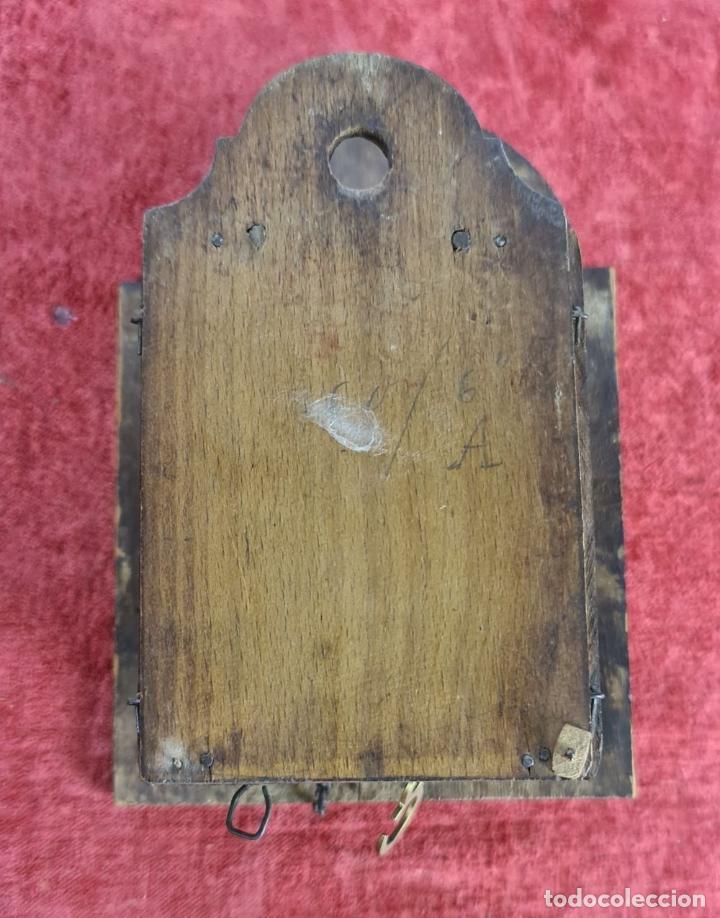 Relojes de pared: RELOJ DE PARED EN MADERA. RATERA. LA SELVA NEGRA. ALEMANIA. SIGLO XIX. - Foto 5 - 251114710
