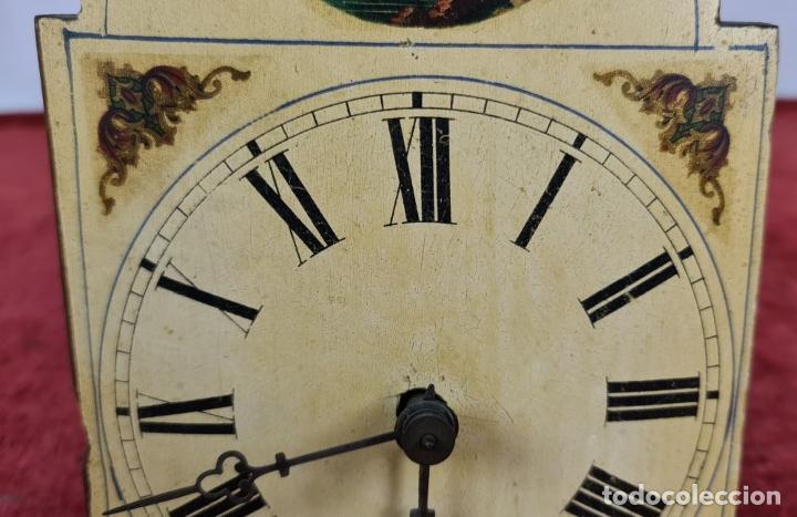 Relojes de pared: RELOJ DE PARED EN MADERA. RATERA. LA SELVA NEGRA. ALEMANIA. SIGLO XIX. - Foto 6 - 251114710