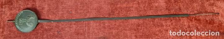 Relojes de pared: RELOJ DE PARED. RATERA. FRONTAL DE MADERA. SELVA NEGRA. ALEMANIA. SIGLO XIX. - Foto 13 - 251807440