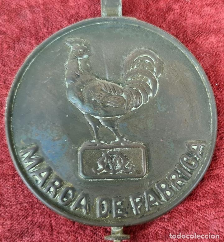 Relojes de pared: RELOJ DE PARED. RATERA. FRONTAL DE MADERA. SELVA NEGRA. ALEMANIA. SIGLO XIX. - Foto 14 - 251807440