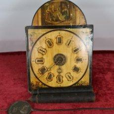 Relojes de pared: RELOJ DE PARED. RATERA. FRONTAL DE MADERA. SELVA NEGRA. ALEMANIA. SIGLO XIX.. Lote 251807440