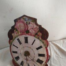 Horloges murales: ANTIQUÍSIMO RELOJ RATERA DE CAMPANA. Lote 252079540