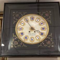 Relojes de pared: MAGNIFICO RELOJ DE PARED CON SONERIA. Lote 252611300