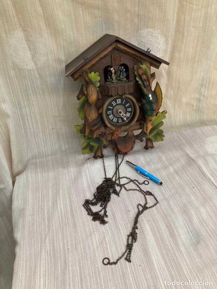 Relojes de pared: Antiguo reloj cucu,bailarines y caja muzica! - Foto 2 - 253556120