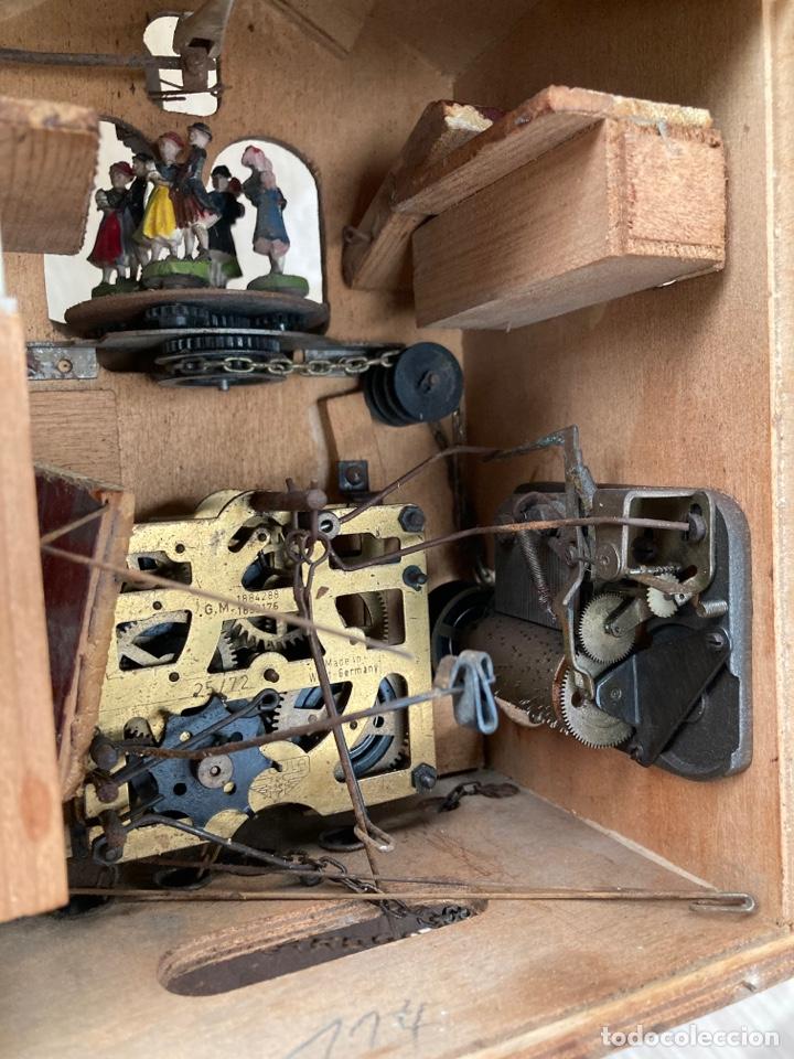Relojes de pared: Antiguo reloj cucu,bailarines y caja muzica! - Foto 8 - 253556120