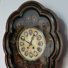 Relojes de pared: ANTIGUO Y BONITO RELOJ DE PARED OJO DE BUEY- SIGLO XIX. Lote 254050690