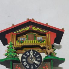 Relojes de pared: ANTIGUO RELOJ DE CUCU PARA RESTAURACIÓN O PIEZAS. Lote 254060190