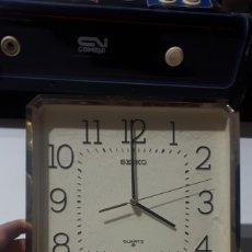 Relojes de pared: RELOJ DE PARED SEIKO A PILAS LEER DESCRIPCIÓN. Lote 254250515
