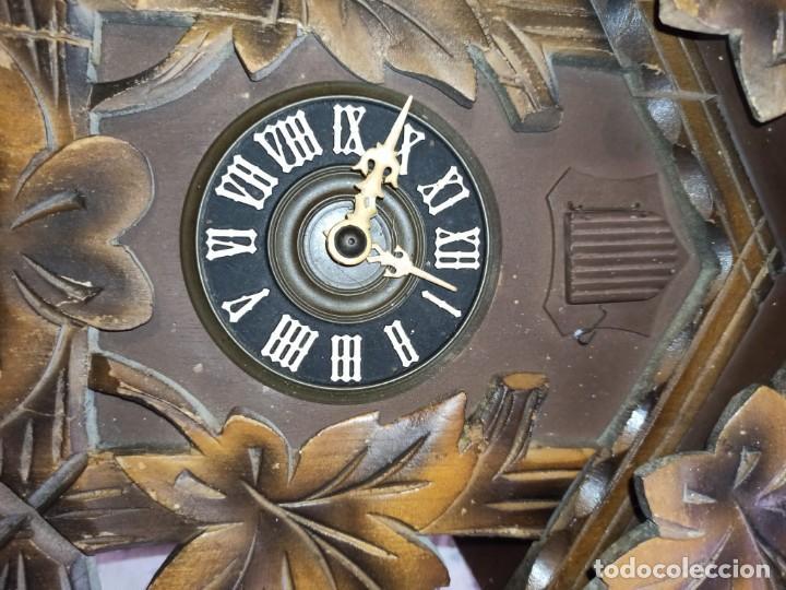 Relojes de pared: RELOJ DE CUCO MADERA - Foto 5 - 254285830