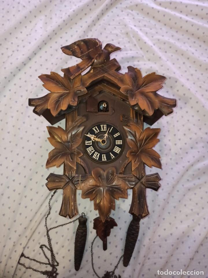 Relojes de pared: RELOJ DE CUCO MADERA - Foto 6 - 254285830
