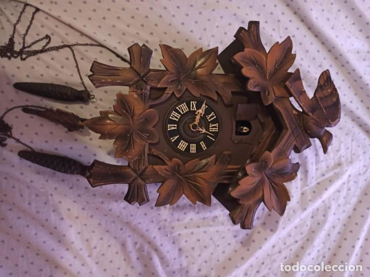 Relojes de pared: RELOJ DE CUCO MADERA - Foto 7 - 254285830