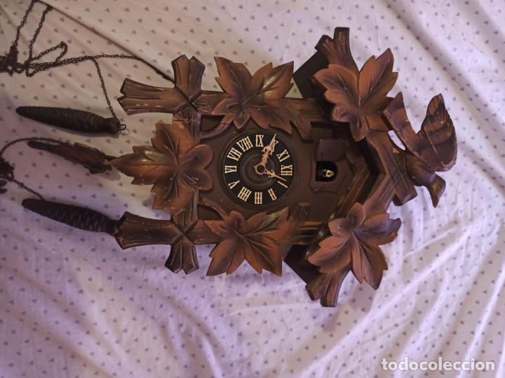 Relojes de pared: RELOJ DE CUCO MADERA - Foto 8 - 254285830
