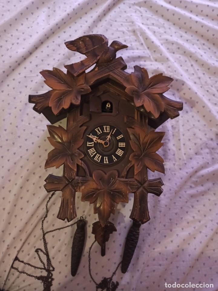 Relojes de pared: RELOJ DE CUCO MADERA - Foto 10 - 254285830