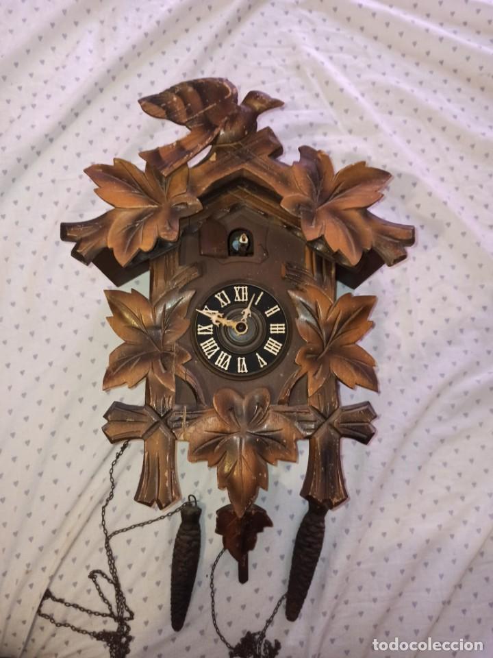 Relojes de pared: RELOJ DE CUCO MADERA - Foto 11 - 254285830