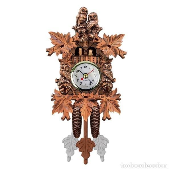 Relojes de pared: Vintage Reloj de cuco - Foto 4 - 254550280