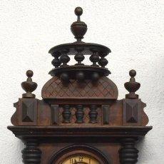 Relojes de pared: REGULATOR ANTIGUA CON PENDULO GATO - 113 CM ALTURA. Lote 254558940
