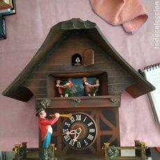 Relojes de pared: RELOJ CUCO EMIL SCHMECKENBECHER. Lote 255425605