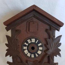 Relojes de pared: CUCÚ DESMONTADO (VER FOTOGRAFÍAS PARA COMPROBACIÓN DE LAS PIEZAS). Lote 260393310