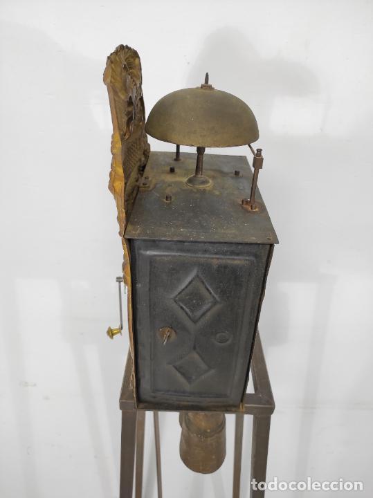 Relojes de pared: Reloj de Pared - Maquina Morez - Sonería de Campana - Funciona - Completo - S. XIX - Foto 4 - 260695520
