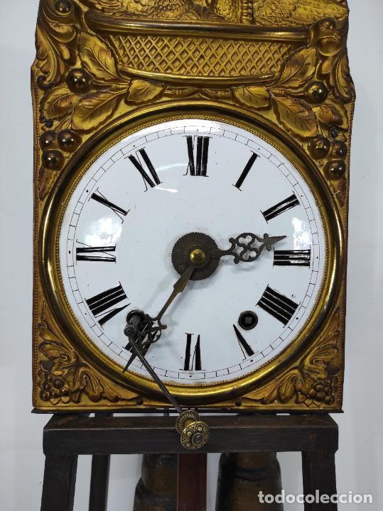 Relojes de pared: Reloj de Pared - Maquina Morez - Sonería de Campana - Funciona - Completo - S. XIX - Foto 8 - 260695520