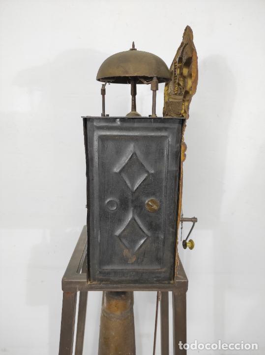 Relojes de pared: Reloj de Pared - Maquina Morez - Sonería de Campana - Funciona - Completo - S. XIX - Foto 20 - 260695520