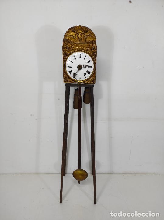 Relojes de pared: Reloj de Pared - Maquina Morez - Sonería de Campana - Funciona - Completo - S. XIX - Foto 22 - 260695520