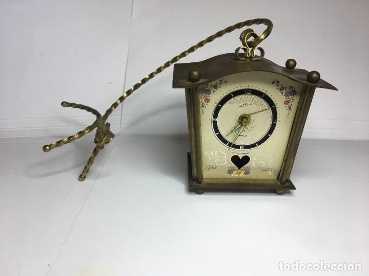 PEQUEÑO RELOJ SCHMID SCHLENKER (Relojes - Pared Carga Manual)