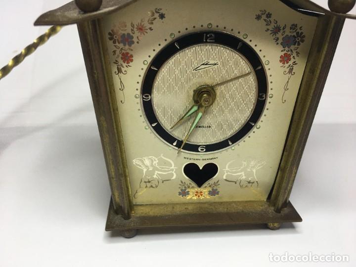 Relojes de pared: PEQUEÑO RELOJ SCHMID SCHLENKER - Foto 3 - 260748145