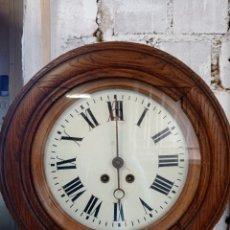 Relojes de pared: RELOJ ANTIGUO INGLÉS. Lote 260749495