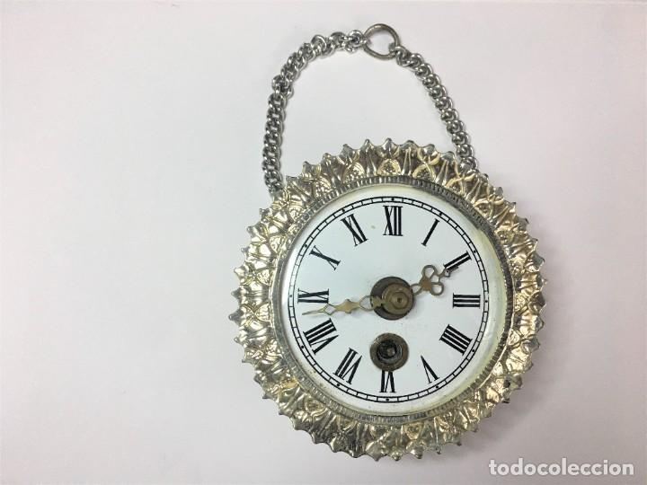PEQUEÑO RELOJ SOL PARED O COLGAR MADE IN GERMANY (Relojes - Pared Carga Manual)