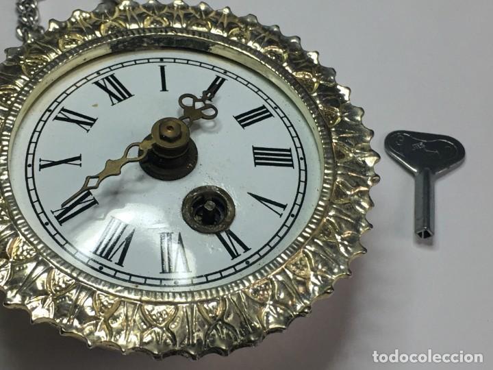 Relojes de pared: PEQUEÑO RELOJ SOL PARED o COLGAR MADE IN GERMANY - Foto 2 - 260755155