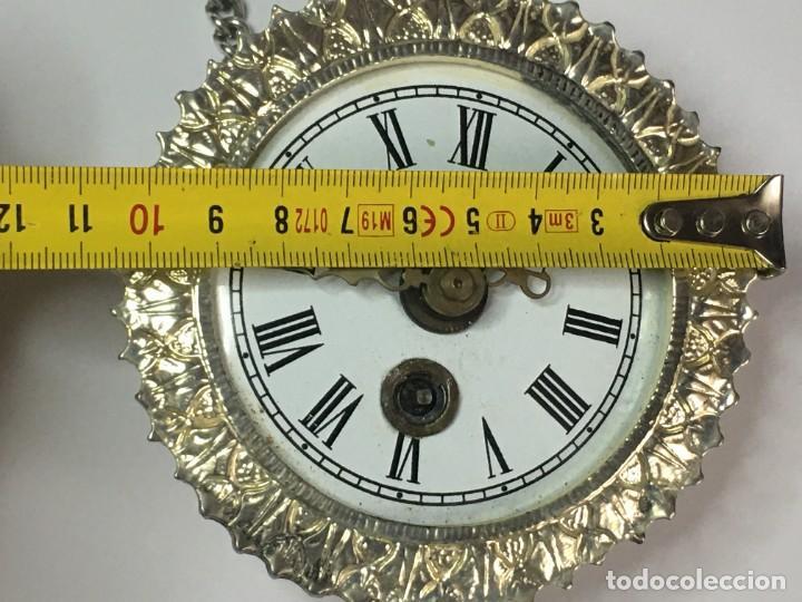 Relojes de pared: PEQUEÑO RELOJ SOL PARED o COLGAR MADE IN GERMANY - Foto 7 - 260755155